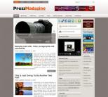 Новостной шаблон WordPress от NewWpThemes: PressMagazine