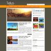 Осенняя тема WordPress от NewWpThemes: Tellus
