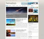 Светлая тема wordpress от NewWpThemes: Sensation
