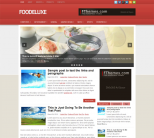 Еда в шаблон для wordpress от Fthemes: FooDeluxe