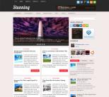 Новостная тема wordpress от Fthemes: Stunning