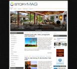Шаблон wordpress о недвижимости: StoryMag