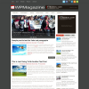 Серая новостная тема для WordPress: WPMagazine