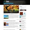 Тема wordpress для сайтов о природе: Liano