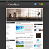 Креативная новостная тема wordpress: Creatica