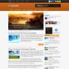 Новостная тема wordpress: BoardZine