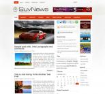 Автомобильный шаблон для сайтов на wordpress: SuvNews