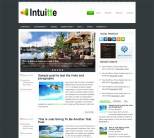 Финансовый шаблон для wordpress: Intuitte
