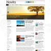 Цветочная тема для wordpress: Novita