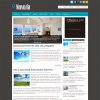 Домашний шаблон wordpress от Fthemes: Noveria
