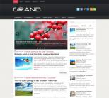 Grand: новостной шаблон для wordpress