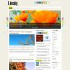 Цветы в шаблоне для wordpress: Linedy