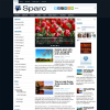 Природа в теме wordpress: Sparc