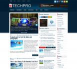 Технологичная тема WordPress от Fthemes: TechPro