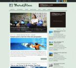 Бизнес шаблон для wordpress: YardZine