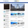 Городской навостной шаблон wordpress: TypeFace