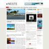 Серая новостная тема wordpress: Neste
