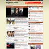 Бежевая новостная тема вордпресс: Enlight