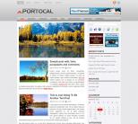 Двухколоночная тема wordpress: Portocal