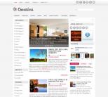 Серый шаблон wordpress от NewWpThemes: Creativa