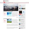 Светлый новостной шаблон wordpress от Fthemes: Verto