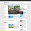 Светлая трехколоночная тема для wordpress: Suitte