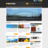 Креативная тема wordpress от NewWpThemes: UpStream