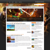 Игровой шаблон для wordpress: GameFusion