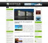 Шаблон вордпресс о серверах: HostHub