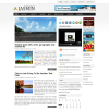 Туристическая новостная тема wordpress: Jasmin