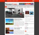 Необычный дизайн в шаблоне wordpress: DesignFreak