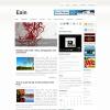 Белый шаблон для wordpress от NewWpThemes: Esin