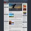 Трехколоночный шаблон wordpress: Trista