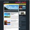 Яркая туристическая тема wordpress: Sinba