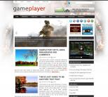 Новостная тема wordpress об играх: GamePlayer