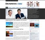 Бизнес шаблон для wordpress: BusinessFirm