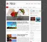 Тема wordpress о еде от NewWpThemes: Nico