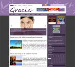 Шаблон wordpress для девушек: Gracia
