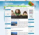 Похудение тема wordpress: HealthyDiet