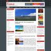 Новостная тема вордпресс: Fiono