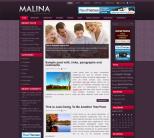 Семейный шаблон для wordpress: Malina
