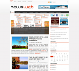 Новости интернета в теме wordpress: NewsWeb
