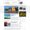 Туристическая тема для wordpress: eTravel