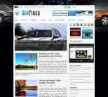 Авто новостная тема wordpress: SuvPress