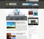 Хостинг шаблон для wordpress: HostSite
