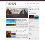 Бизнес тема WP от NewWpThemes: Avenue