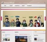 Новостная интернет тема для wordpress: InternetMagic