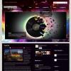 Музыкальный шаблон wordpress от Smthemes: SoundWaves