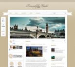 Туризм в шаблоне wordpress: RoundTheWorld