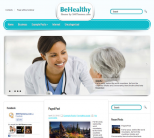Медицинская тема для wordpress: BeHealthy